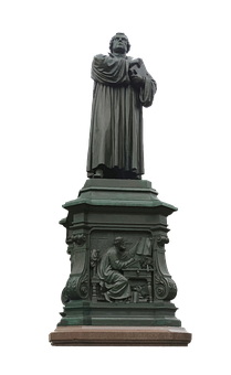 Martin Luther, Reformation, Protestant, Monument