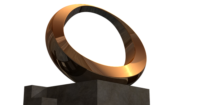 Sculpture, Isolated, Gold, Golden, Gilded