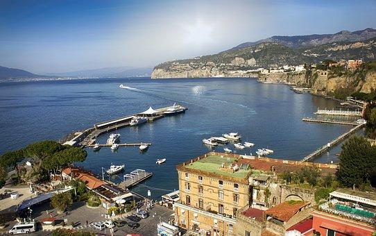 Italy, Sorrento, Amalfi, Sea, Europe, Coast, Travel