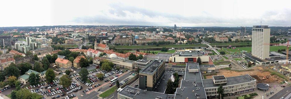 Vilnius, City, Lithuania, Europe, Architecture