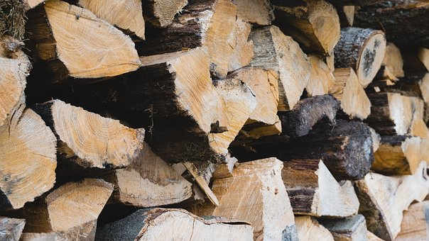Wood, Stack, Firewood, Nature, Holzstapel, Stacked Up