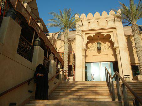 Dubai, Mall, Building, Architecture