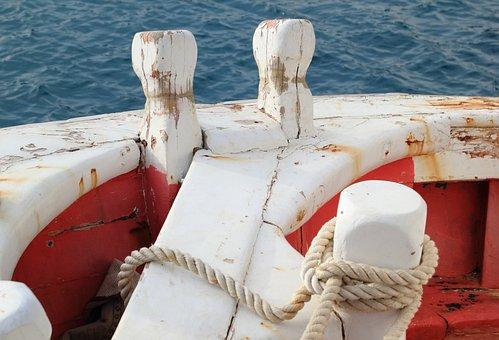 Albania, Sea, Harbour, Boat, Stern, Fishing, Vessel