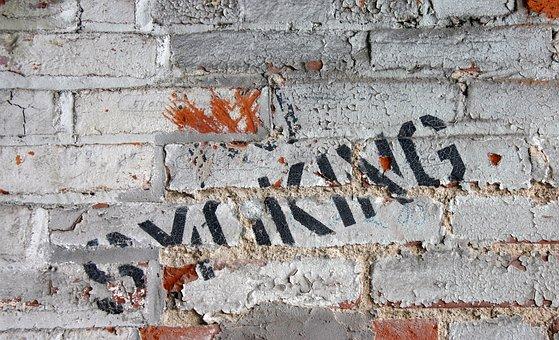 Grunge, Brick, Peeling Paint, Texture