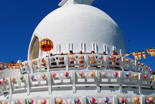 Zalaszántó, Stupa, Buddhism, Buddha, Holiday