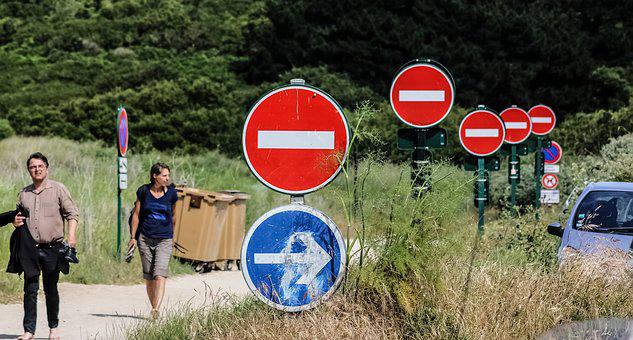 No Entry, Brittany, Cancale