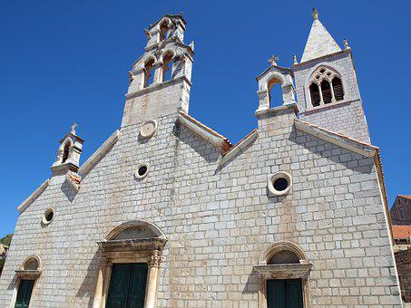 Church, Lastovo, Croatia, Traditional, Architecture
