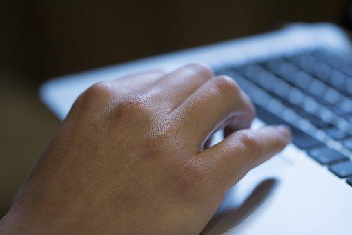Hand, Ict, Laptop, Macbook, Computer, Keyboard