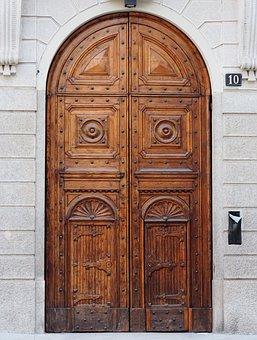 Door, Wood, Old Door, Goal, House Entrance, Doors