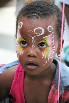Craft, Color, Face, Paint, Colorful, Creative, Child