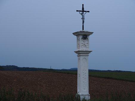 Cross, Wayside Cross, Religion, Religious Symbol, Faith
