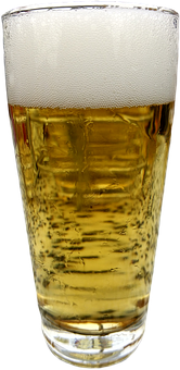Beer Glass, Isolated, Beer, Pils, Food, Drink