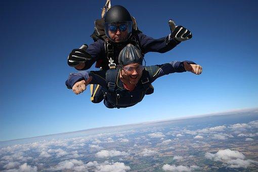 Tandem, Skydive, Fun