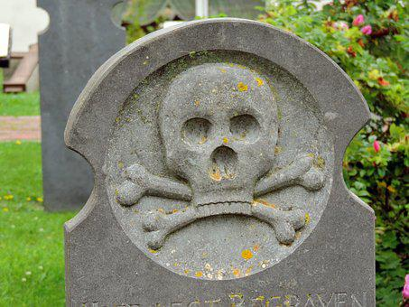 Grave, Whalers Cemetery, Old, Borkum, Cemetery, Island