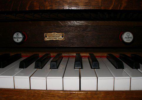 Keyboard, Organ, Harmonium, Music