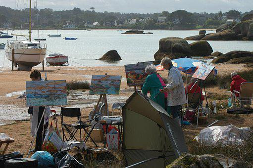 Painter, Artists, Hobby, Paint, Art, Painting, Brush