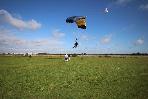 Parachute, Tandem, Skydiving