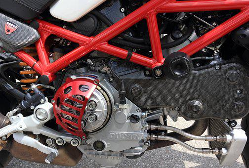 Italy, Motorcycle, Ducati, Clutch, Supersport, Carbon