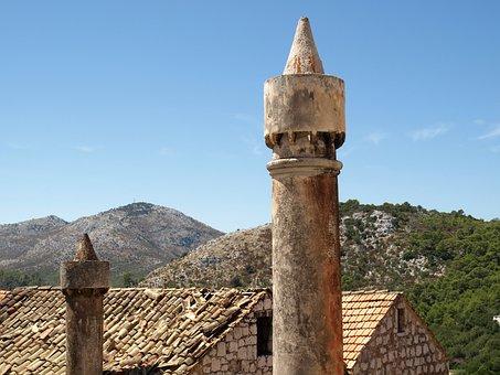 Fumar, Lastovo, Mediterranean, Chimney, Tradition