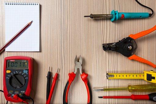 Tool, Tester, Screwdriver, Soldering Iron, Repair, Work