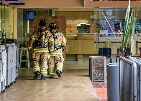 Tijuana, Fireman, Fire, Alarm, Alert, Emergency