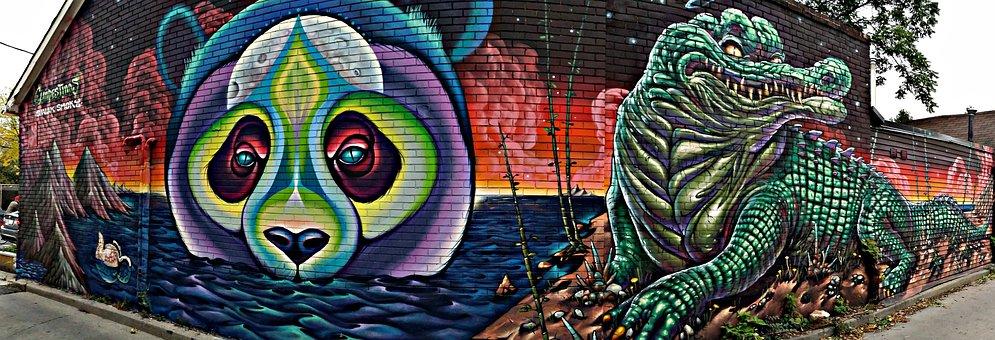 Mural, Grafiti, Toronto, Bruno Shalak, Art, Urban