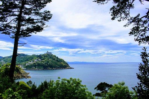 Spain, Saint Sebastian, Bay