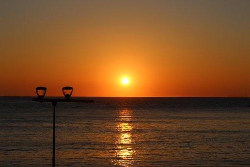 St Jean De Luz, Sunset, Bay