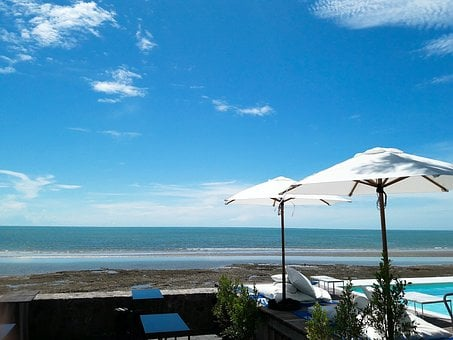 Sea, Beach, Hua Hin, Sky, Prachuap Khiri Khan