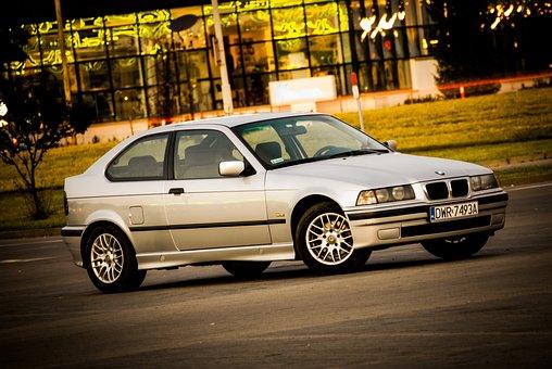 Bmw, Car, Sports, Old, Emblem, Speed, Mask, Race, Drift