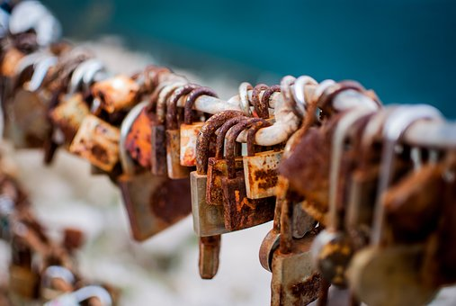 Padlocks, Love, Bridge, Bridge Lovers, Symbols