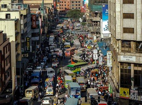 Nairobi, Kenya, Streets, Matatu, Urban, City, Africa
