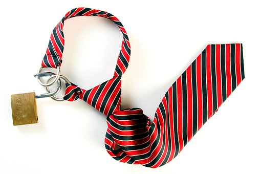 Conceptual, Business, Necktie, Noose, White Collar