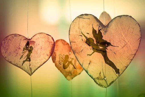 Elves, Fee, On Wood, Romantic, Fairy Tales, Playful