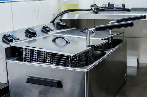 Fryer, Kitchen, Equipment, Cooking, Cook, Fastfood