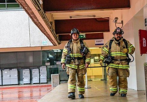 Fire, Fireman, Tijuana, Firefighter, Emergency, Rescue