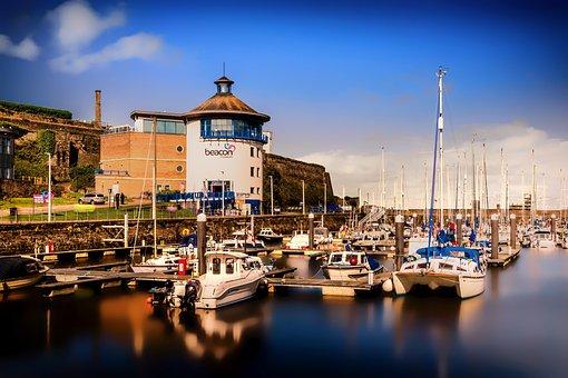 Whitehaven, Marina, Harbour, Port, Cumbria, Boats