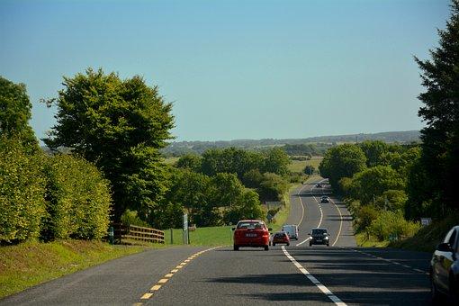 Ireland, Road, Travel, Irish, Countryside, Scenery