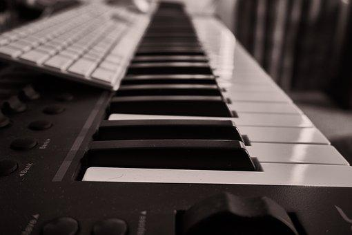 Piano, Keyboard, Music, Musical, Instrument, Key, Play