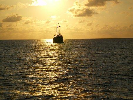 Boat, Sea, Port, Fishing, Landscape, Beach, Browse