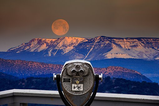 Viewpoint, Telescope, Binoculars, Lookout