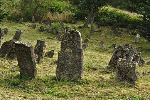 Cemetery, Jewish Cemetery, Lutowiska, Matzeva, Graves