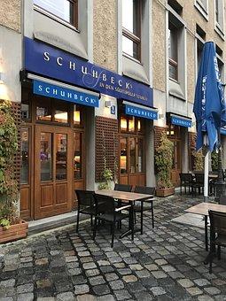 Munich, Free State, Bavaria, Alley, Schubeck