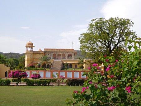 Kanak Ghati, Jaipur, India, Architecture, Summer