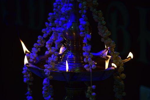 Lamp, Traditional, Onam, Vishu