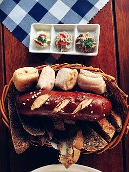 Vegetables, Western, Bread