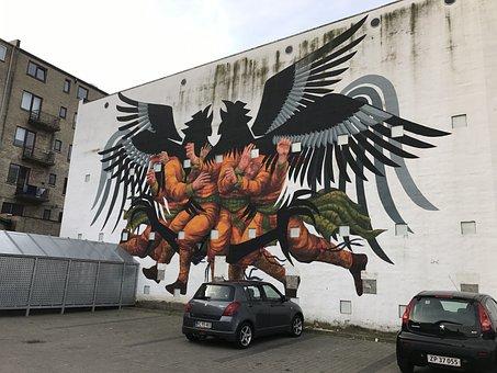 Gavelmålning, Art, Aalborg