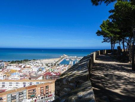 Spain, Denia, Alicante, Travel, Mediterranean, Sea