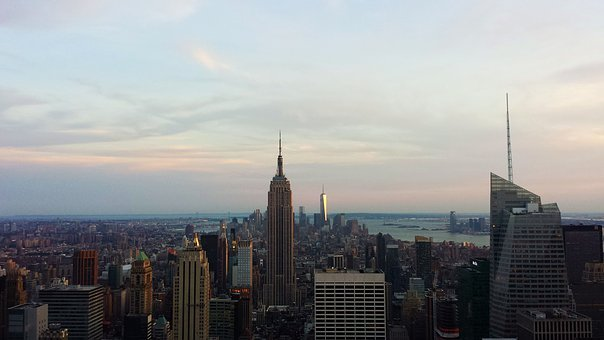 New York, Nyc, Manhattan, Usa, Skyscraper, America