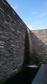 Wall, Water, Architecture, Garden, Garden Design